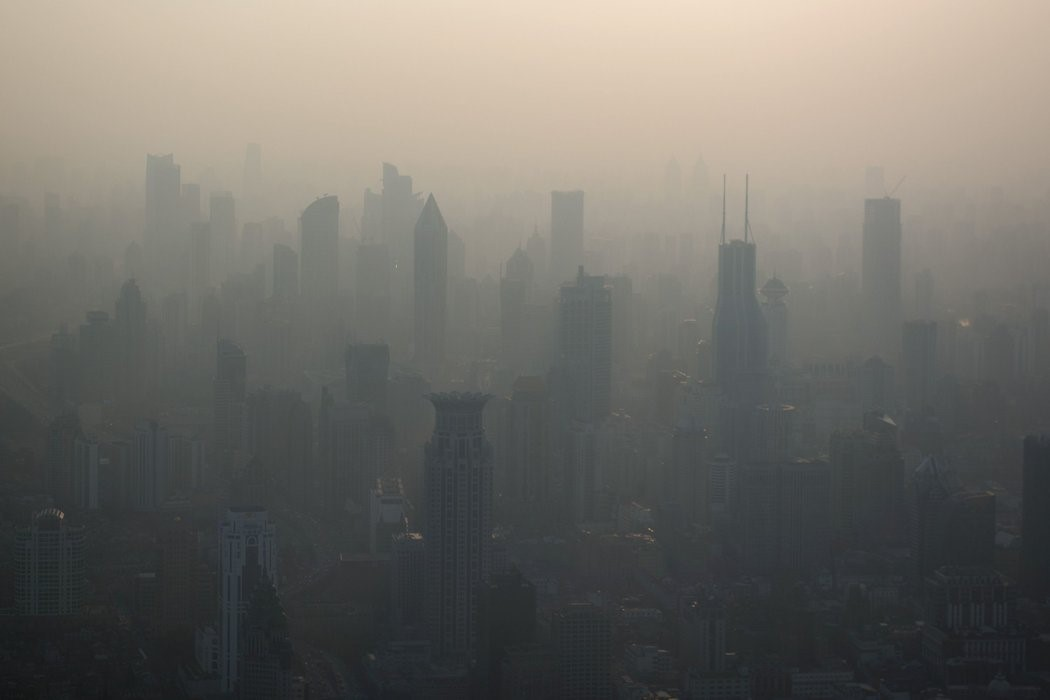 空氣汙染照片